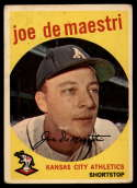 1959 Topps #64 Joe DeMaestri VG Very Good