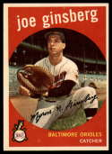 1959 Topps #66 Joe Ginsberg NM Near Mint