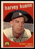 1959 Topps #70 Harvey Kuenn EX Excellent