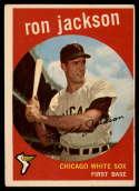 1959 Topps #73 Ron Jackson UER EX Excellent