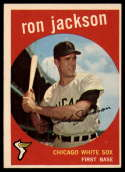 1959 Topps #73 Ron Jackson UER VG/EX Very Good/Excellent