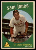 1959 Topps #75 Sam Jones EX Excellent