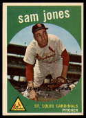1959 Topps #75 Sam Jones NM Near Mint