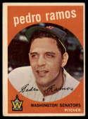 1959 Topps #78 Pedro Ramos EX Excellent