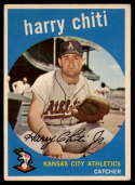 1959 Topps #79 Harry Chiti EX Excellent