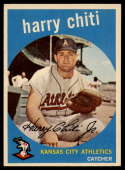 1959 Topps #79 Harry Chiti EX/NM