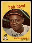 1959 Topps #82 Bob Boyd UER VG Very Good