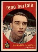 1959 Topps #84 Reno Bertoia EX++ Excellent++