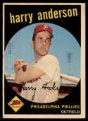 1959 Topps #85 Harry Anderson EX Excellent