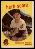 1959 Topps #88 Herb Score VG Very Good