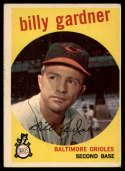 1959 Topps #89 Billy Gardner EX Excellent