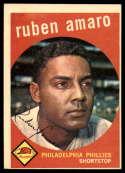 1959 Topps #178 Ruben Amaro EX Excellent RC Rookie