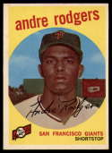 1959 Topps #216 Andre Rodgers NM+ white back