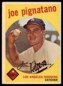 1959 Topps #16 Joe Pignatano EX Excellent