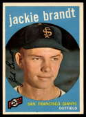 1959 Topps #297 Jackie Brandt NM Near Mint RC Rookie