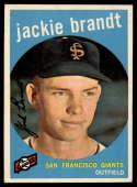 1959 Topps #297 Jackie Brandt EX/NM RC Rookie