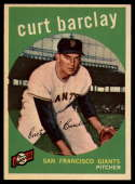 1959 Topps #307 Curt Barclay NM Near Mint