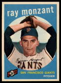 1959 Topps #332 Ray Monzant NM Near Mint