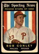 1959 Topps #121 Bob Conley VG Very Good RC Rookie