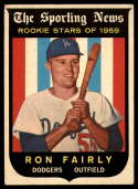 1959 Topps #125 Ron Fairly VG/EX Very Good/Excellent RC Rookie