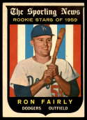 1959 Topps #125 Ron Fairly VG Very Good RC Rookie