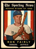 1959 Topps #125 Ron Fairly EX Excellent RC Rookie