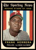 1959 Topps #129 Frank Herrera NM Near Mint