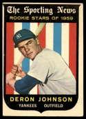 1959 Topps #131 Deron Johnson EX Excellent RC Rookie