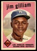 1959 Topps #306 Jim Gilliam EX++ Excellent++