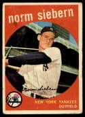 1959 Topps #308 Norm Siebern G/VG Good/Very Good