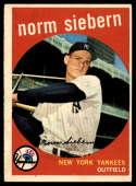 1959 Topps #308 Norm Siebern EX++ Excellent++