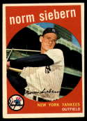 1959 Topps #308 Norm Siebern VG/EX Very Good/Excellent