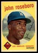 1959 Topps #441 John Roseboro EX/NM