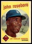 1959 Topps #441 John Roseboro EX Excellent