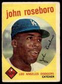 1959 Topps #441 John Roseboro G/VG Good/Very Good