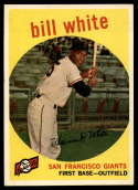 1959 Topps #359 Bill White EX/NM RC Rookie