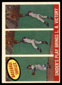 1959 Topps #468 Duke Snider Snider's Play Bring L.A. Victory EX++ Excellent++