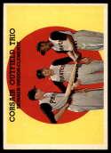 1959 Topps #543 Corsair Outfield Trio (Bob Skinner, Bill Virdon, Roberto Clemente) EX/NM