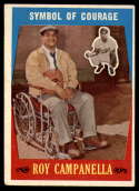 1959 Topps #550 Roy Campanella Symbol of Courage EX Excellent