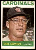 1964 Topps #24 Carl Sawatski VG/EX Very Good/Excellent