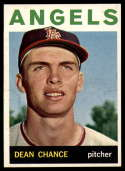 1964 Topps #32 Dean Chance NM Near Mint