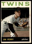1964 Topps #34 Jim Perry EX Excellent