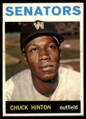 1964 Topps #52 Chuck Hinton NM Near Mint