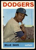 1964 Topps #68 Willie Davis EX Excellent