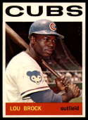 1964 Topps #29 Lou Brock EX Excellent