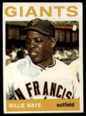 1964 Topps #150 Willie Mays EX Excellent
