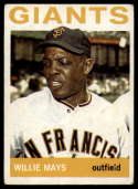 1964 Topps #150 Willie Mays VG Very Good