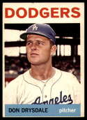 1964 Topps #120 Don Drysdale EX Excellent