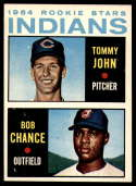 1964 Topps #146 Tommy John/Bob Chance Indians Rookies EX/NM RC Rookie
