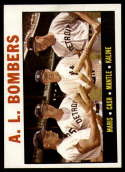 1964 Topps #331 Roger Maris/Norm Cash/Mickey Mantle/Al Kaline AL Bombers NM Near Mint